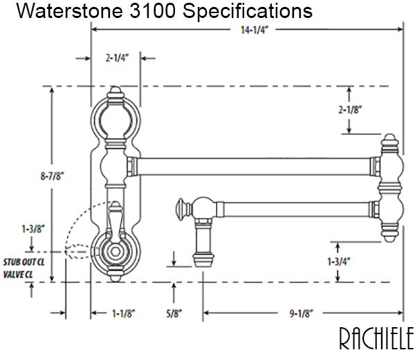 Waterstone 3100 specifications