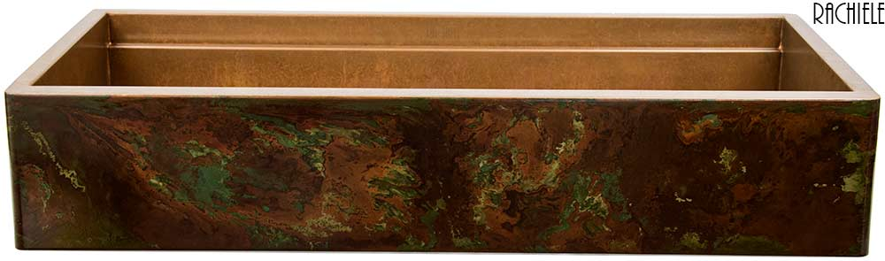 Copper Farmhouse Sink Clearance : Clearance prices on copper sinks and stainless Sinks made in the USA