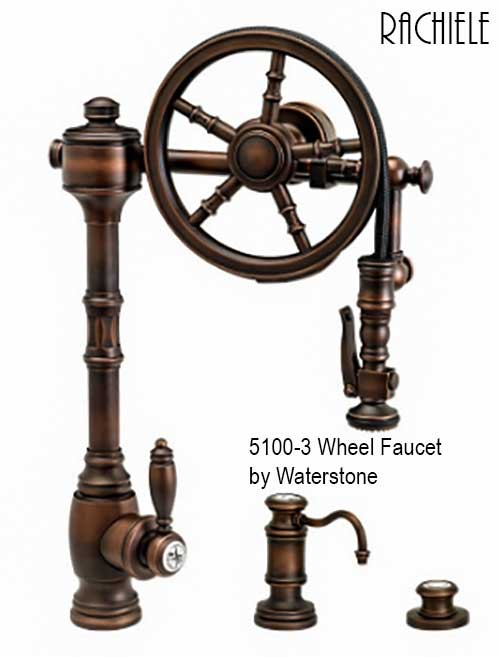 5100 Waterstone faucet wheel faucet