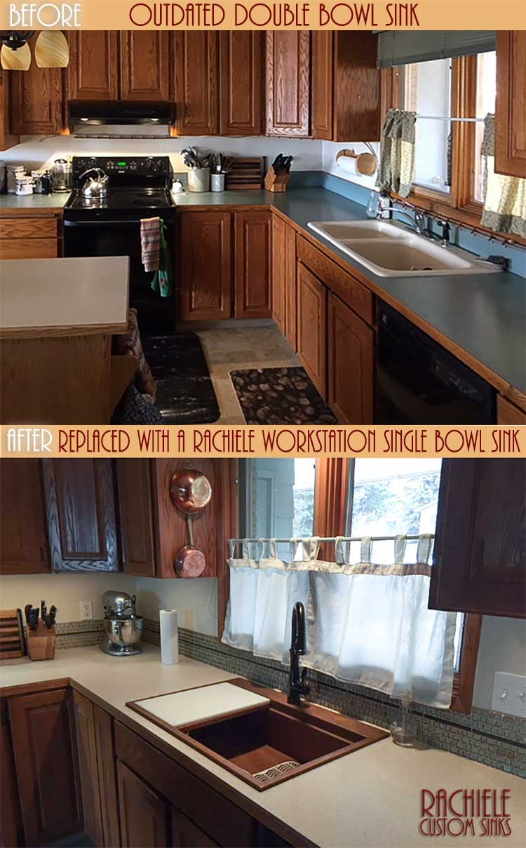 before and after kitchen photo