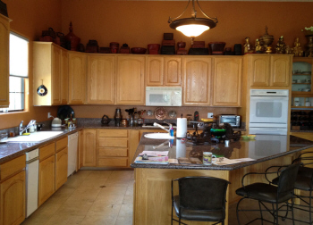 Kitchen photo before remodeling