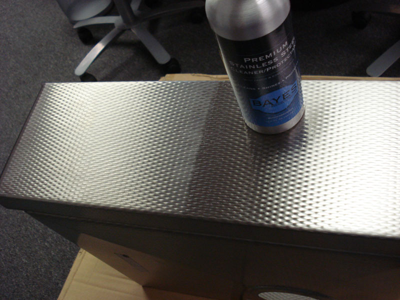 Bayes stainless steel cleaner
