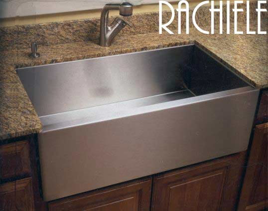 Stainless steel farmhouse apron front sinks made in the usa - American made stainless steel sinks ...