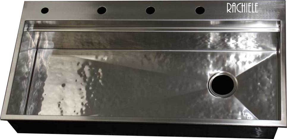 Discontinued Sinks: Custom Made Stainless Steel Drop In