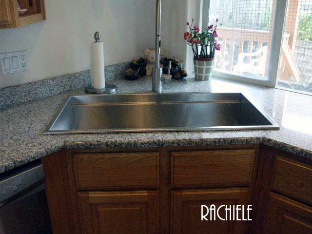 Discontinued Sinks: Custom Made Stainless Steel Drop In ...
