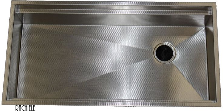 scratch resistant stainless kitchen sink