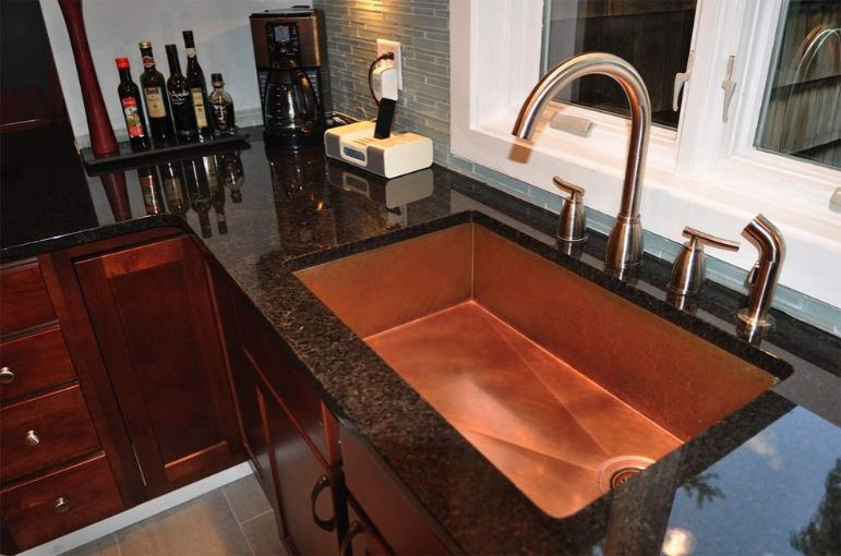 Pictures Of Kitchen Sinks Installed