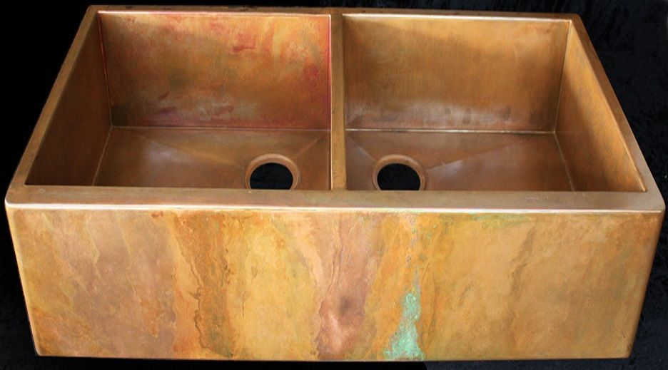 how to take care of a copper sink