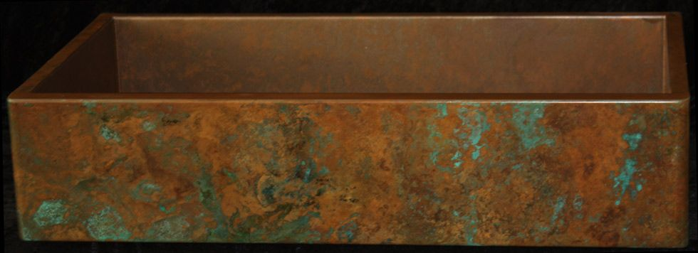 Rachiele copper apron front sinks made in the usa for Rachiele sink complaints