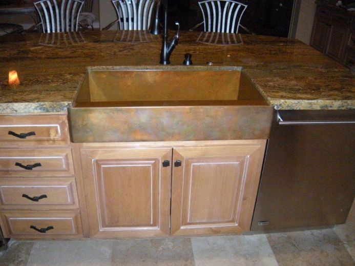 Retrofit Farmhouse Sink : Retrofit farmhouse sink design without having to modify cabinetry ...