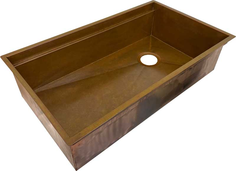 clearance copper sink