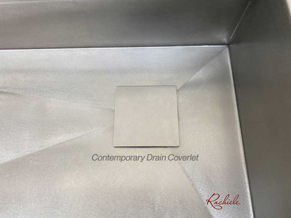 stainless steel kitchen drain cover