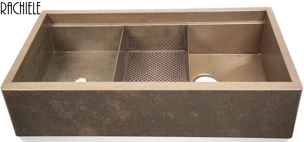 Convert single to double bowl sink