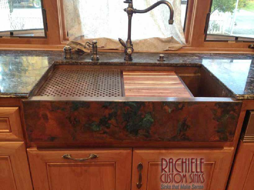 Copper Farmhouse Sink Manufacturer offering Direct to End