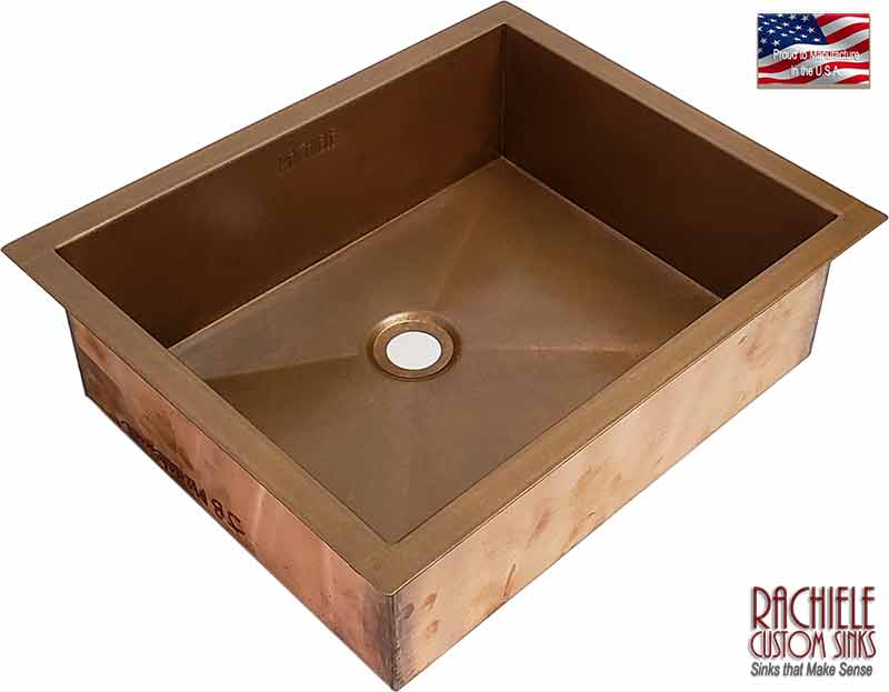 copper bathroom sinks made in the usa