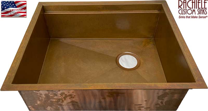 rachiele copper prep sink