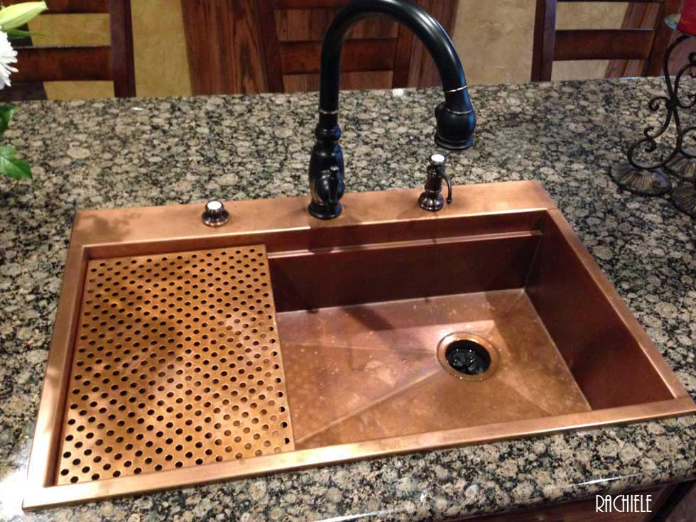 Top mount farmhouse sink marvelous small stainless for Rachiele sink complaints
