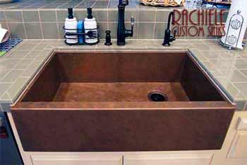 awesome farmhouse sink in a kitchen