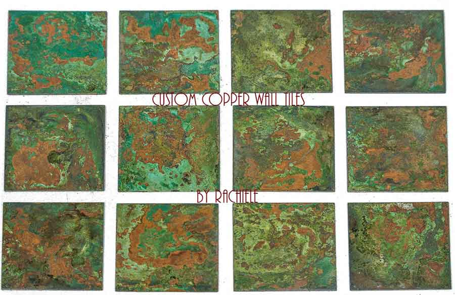 copper wall tiles made in the usa