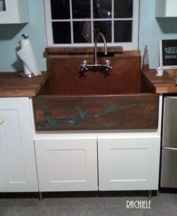 Photo Of Sink In Melissa S Kitchen Our Former General Manager