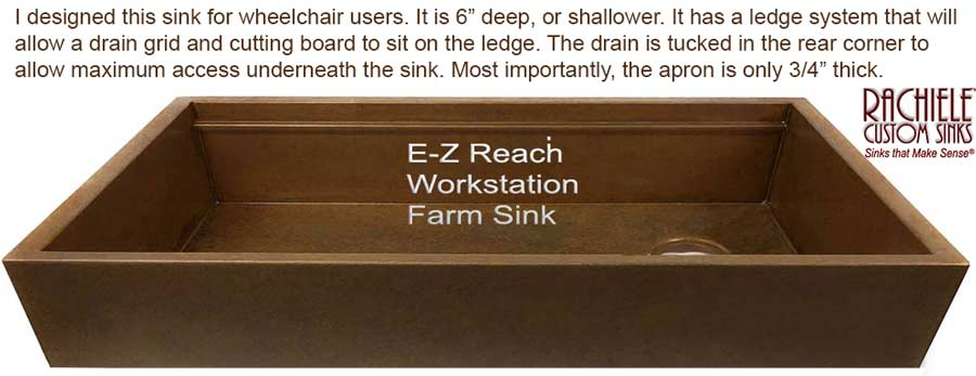 ada compliant farm sink