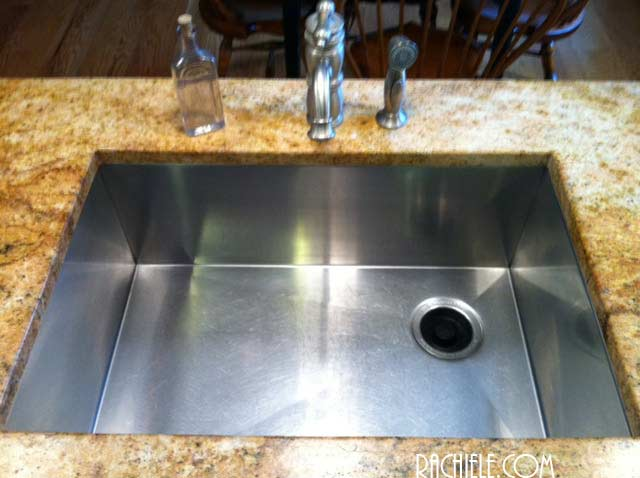 17 year old stainless sink