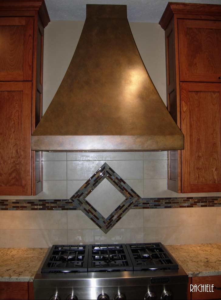 custom copper hood