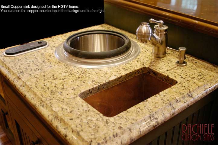 HGTV requested copper sink