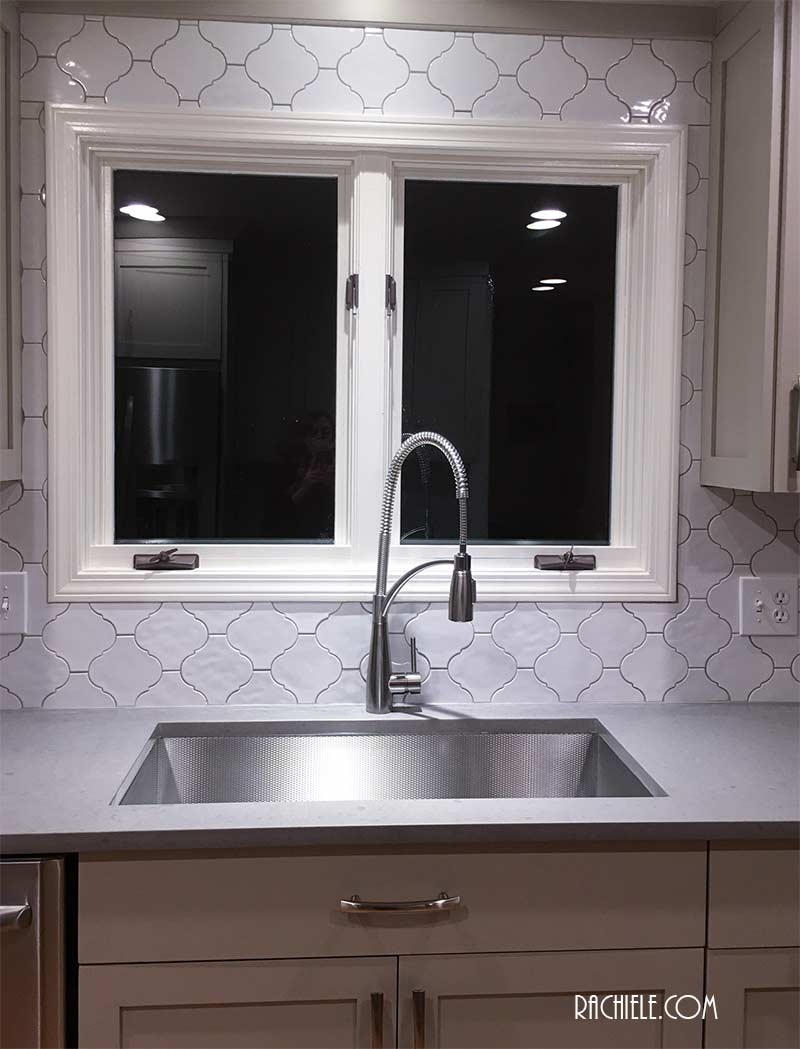 large single bowl stainless sink
