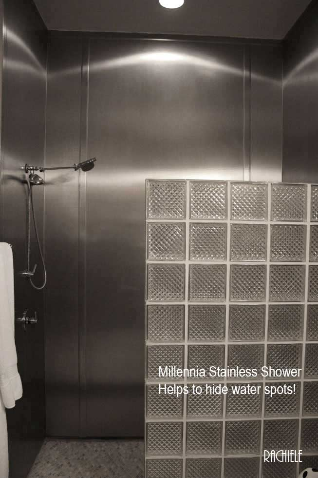 stainless shower