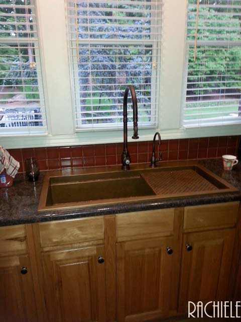 Triple bowl sink replacement by single bowl sink