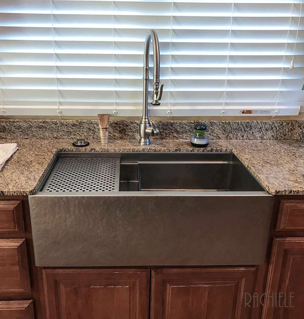 Apron Sink Vintage Apron And Custom: Stainless Steel Farmhouse Apron Front Sinks Made In The USA
