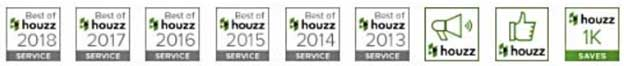 100 reviews on Houzz.com