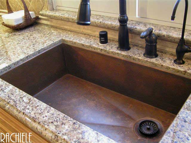 Used kitchen copper sinks farmhouse kitchen sinks used for Rachiele sink complaints