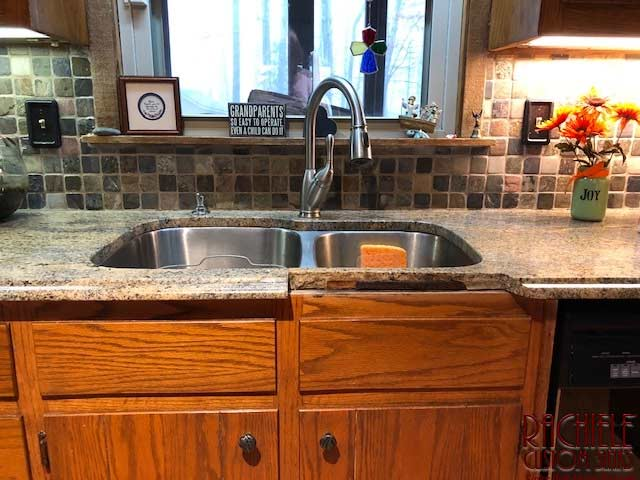 How To Fix A Cracked Granite Counter In Front Of A Sink