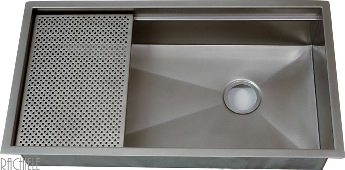 single bowl custom stainless steel sink