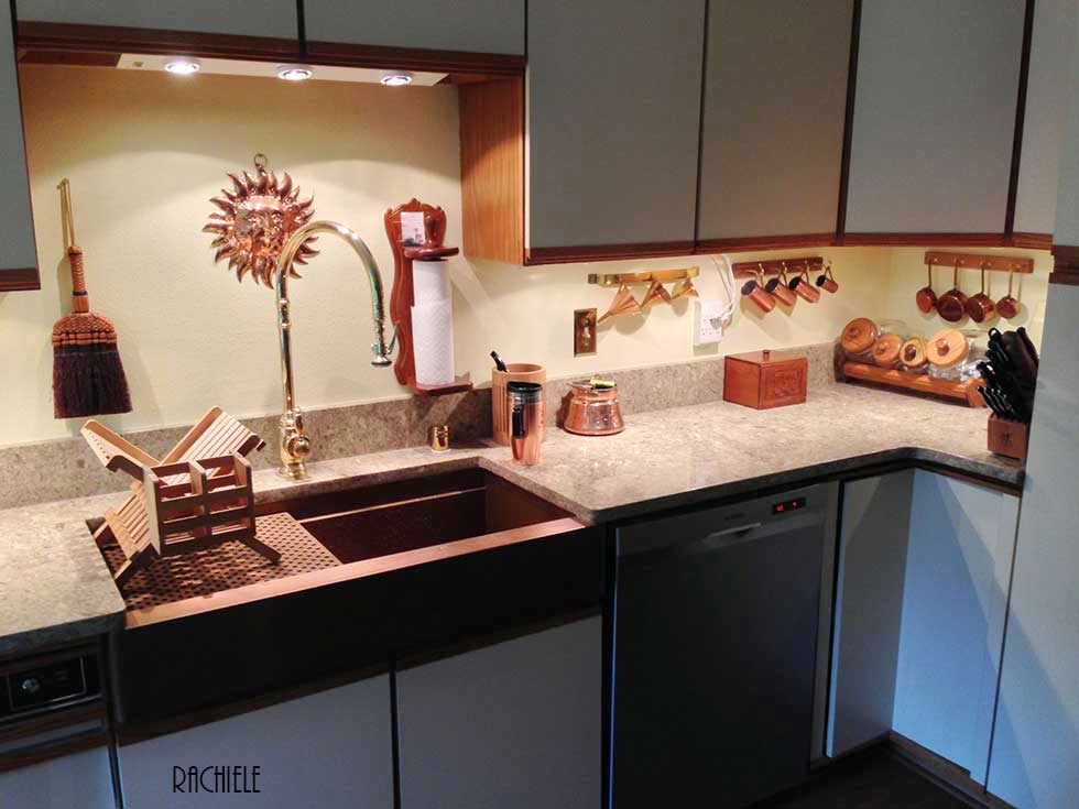 this lovely kitchen is in anchorage alaska we ship worldwide too