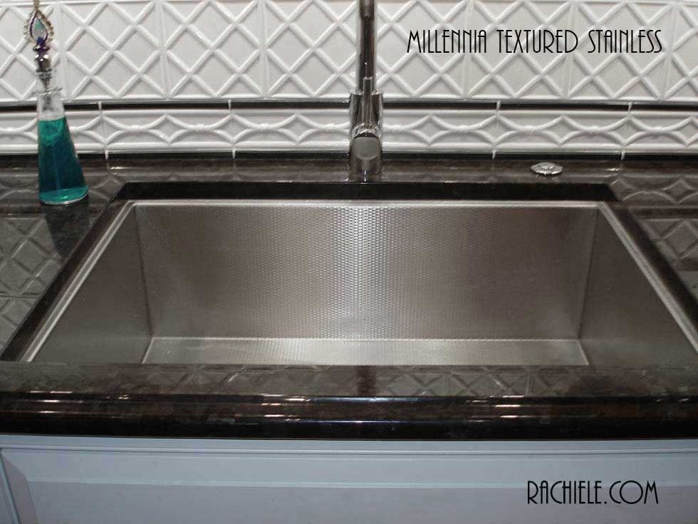 Scratch Resistant Stainless Steel sinks that hide scratches and ...