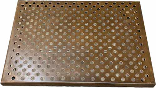 copper drain grid for copper sinks