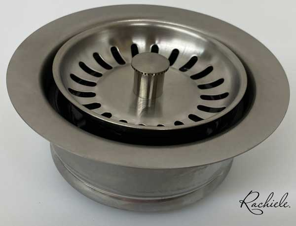 solid stainless kitchen disposal flange