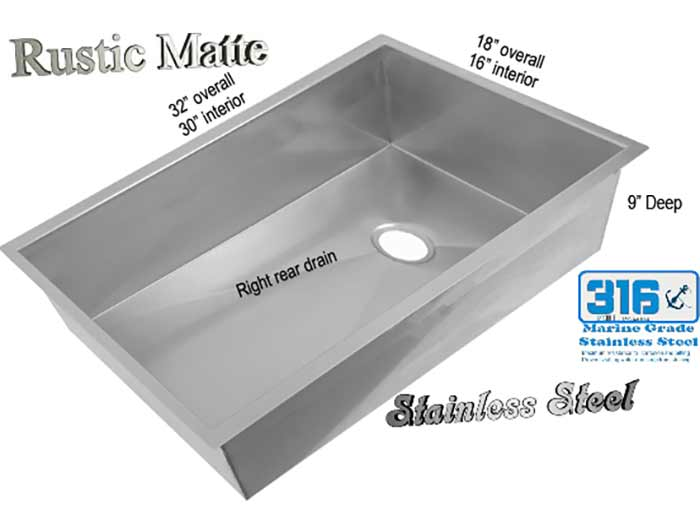stainless under mount sink on sale now