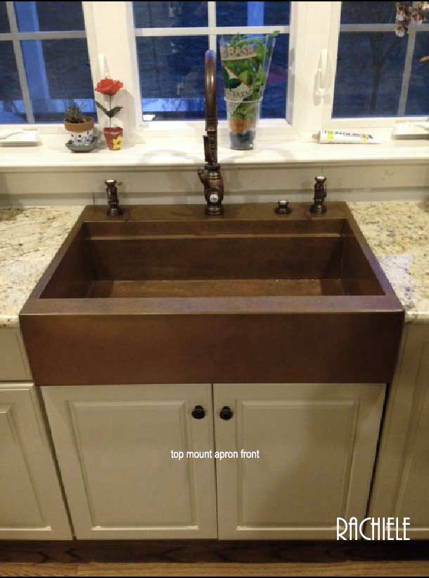 Top Mount Farmhouse Workstation Sink