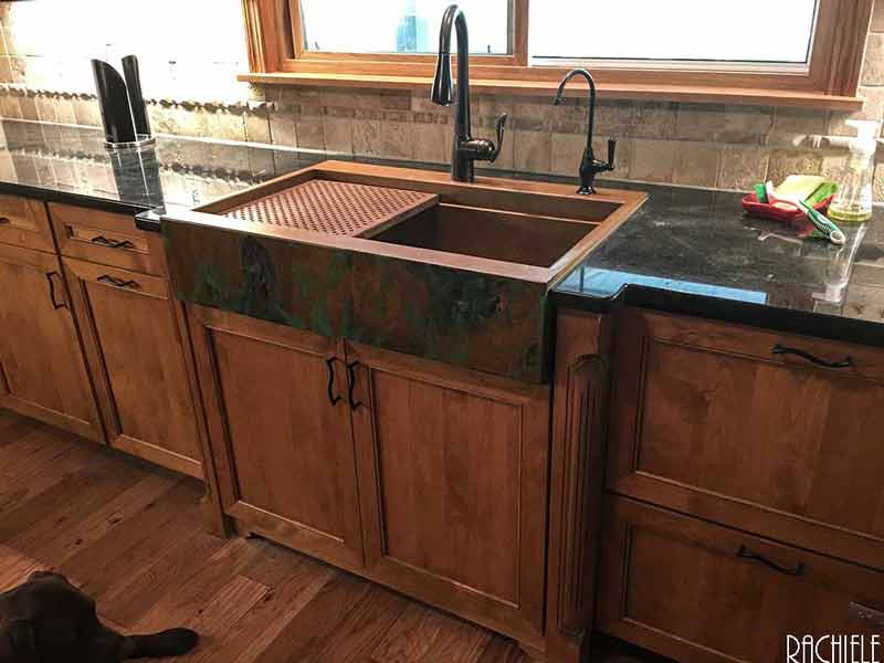 Copper Farmhouse Sinks Hand Crafted And Custom Made In The
