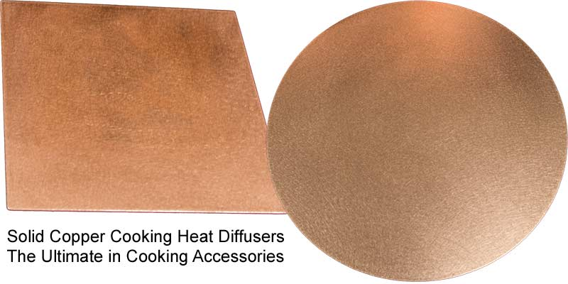 copper cooking diffuser plates